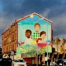 Elph Mural Glasgow Commonwealth Games
