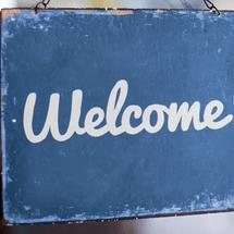 RefugeeWeekScotland2014 Welcomesign