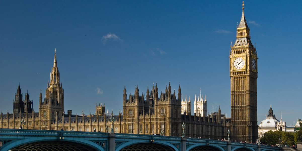Houses Of Parliament 1200x600