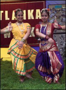 Dancers in traditional dress, August 2007. © Gareth Harper